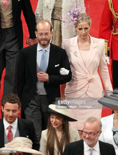 Lord Nicholas Windsor and Lady Paola Windsor
