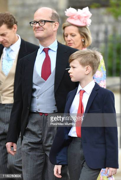 Lord Nicholas Windsor attends the wedding of Lady Gabriella Windsor and Thomas Kingston at St George's Chapel on May 18 2019 in Windsor England
