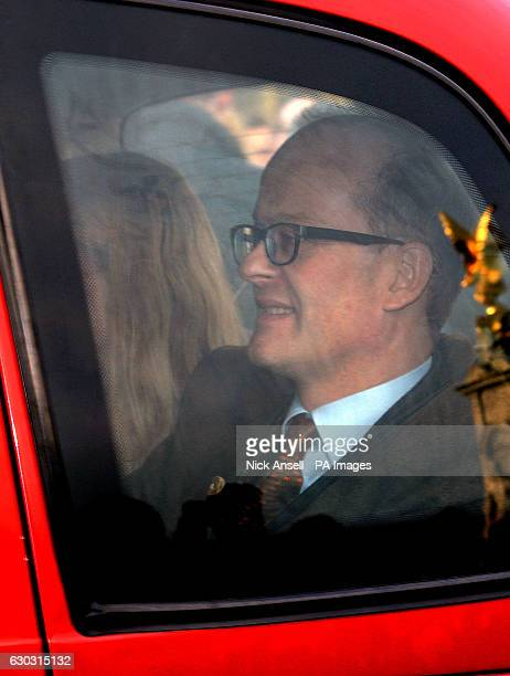 Lord Nicholas Windsor son of the Duke and Duchess of Kent arriving for the Queen's Christmas lunch at Buckingham Palace London