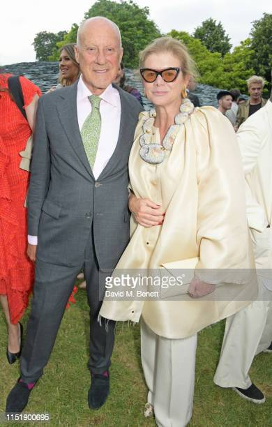 Lord Norman Foster and Lady Elena Ochoa Foster attend The Summer Party 2019 presented by Serpentine Galleries Chanel and hosted by Michael R...