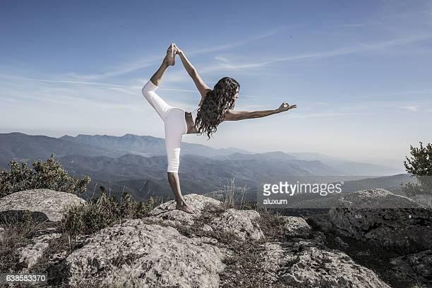 Lord of the dance Yoga pose Natarajasana