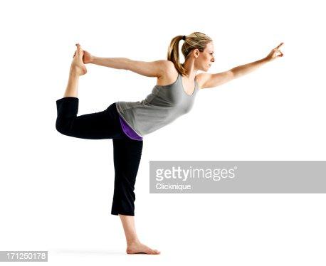 señor de la danza yoga pose foto de stock  getty images