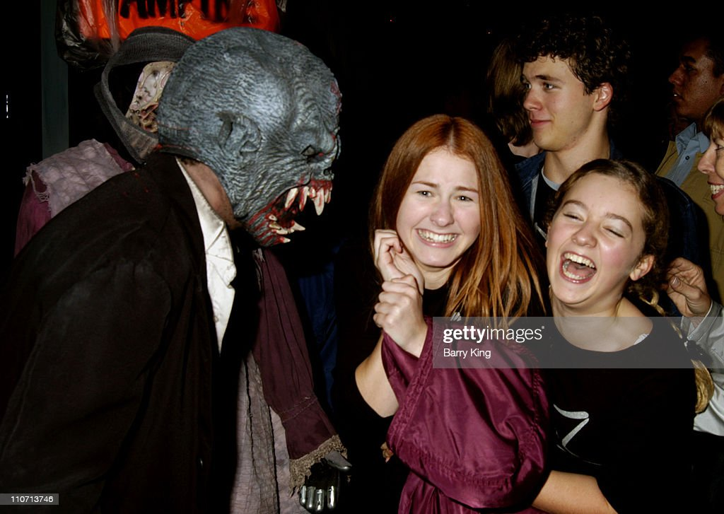 """Kids With A Cause"" Charity Visit Knott's Scary Farm 32nd Annual Halloween Haunt : News Photo"