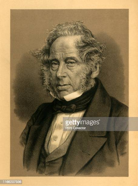 Lord Palmerston', circa 1850, . Henry John Temple British statesman who served twice as Prime Minister and dominated British foreign policy from 1830...