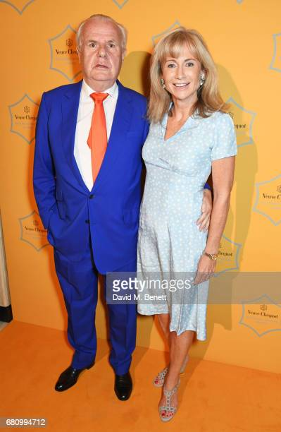 Lord Paul Myners and Lady Alison Myners attend the Veuve Clicquot Business Woman Awards at Claridge's Hotel on May 9 2017 in London England