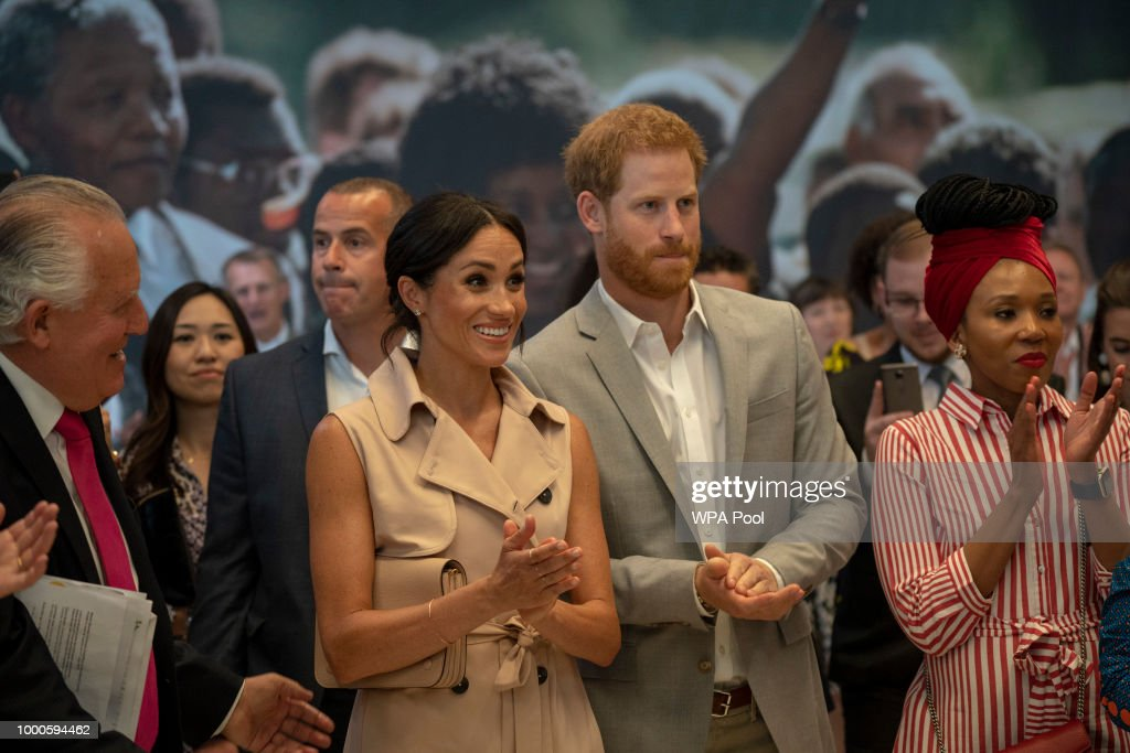 Harry and Meghan Pay Respects to Nelson Mandela