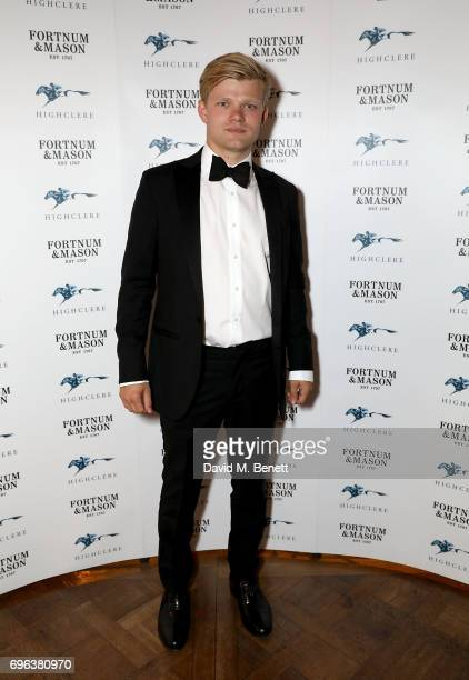 Lord Porchester attends the Highclere Thoroughbred Racing Royal Ascot Dinner at Fortnum Mason on June 15 2017 in London England