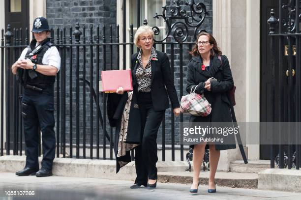Lord President of the Council and Leader of the House of Commons Andrea Leadsom and Leader of the House of Lords and Lord Privy Seal Baroness Evans...