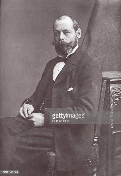 Lord Randolph Churchill - portrait. British statesman, son of the 7th Duke of Marlborough and Leader of the House of Commons from 3 August 1886 – 14...
