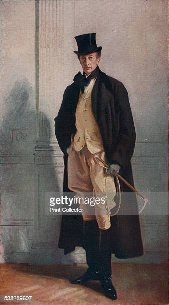 Lord Ribblesdale 1902 Painting held in The National Gallery London From A History of Painting Volume VIII by Haldane MacFall [T C and E C Jack Lodon...