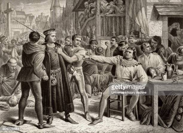 Lord Saye and Sele brought before Jack Cade leader of a popular revolt in the 1450 Kent rebellion Cade had him imprisoned in the Tower and beheaded...