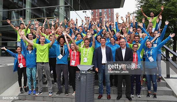 Lord Seb Coe president of the IAAF pictured during a 'Young Leaders Forum' during day two of the 23rd European Athletics Championships at Olympic...