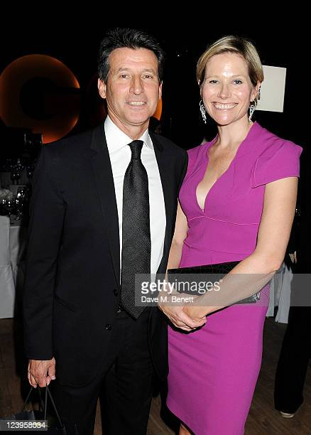 Lord Sebastian Coe and Carole Annett attend the afterparty following the GQ Men Of The Year Awards 2011 at The Royal Opera House on September 6 2011...