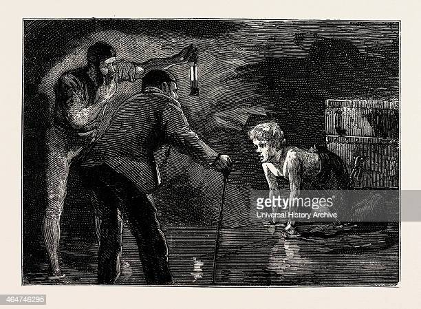 Lord Shaftesbury Visiting The Coal Mines Of The Black Country 184042