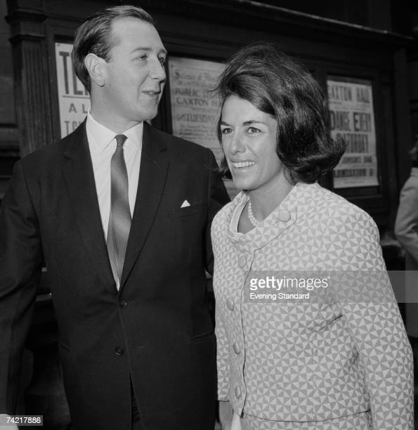 Lord Shaftesbury weds Bianca le Vien, July 1966.