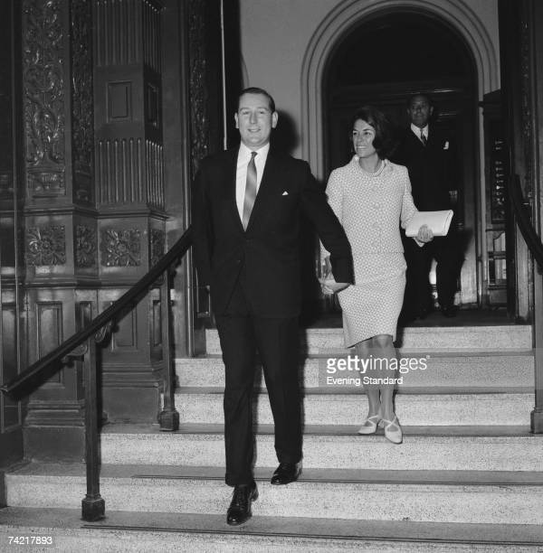 Lord Shaftesbury weds Bianca le Vien July 1966