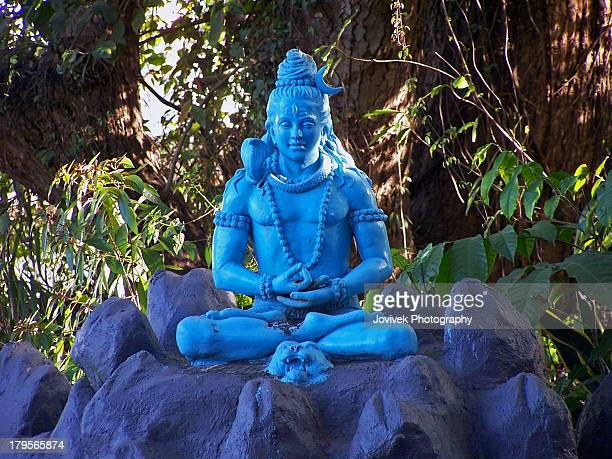 lord shiva - hindu god stock photos and pictures