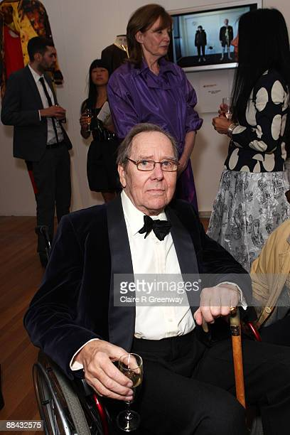Lord Snowdon and Lady Snowdon attend the Royal College of Art Summer Fashion Show Gala at Royal College of Art on June 11 2009 in London England