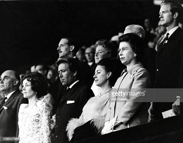 Lord Snowdon Princess Margaret and HM The Queen Elizabeth II