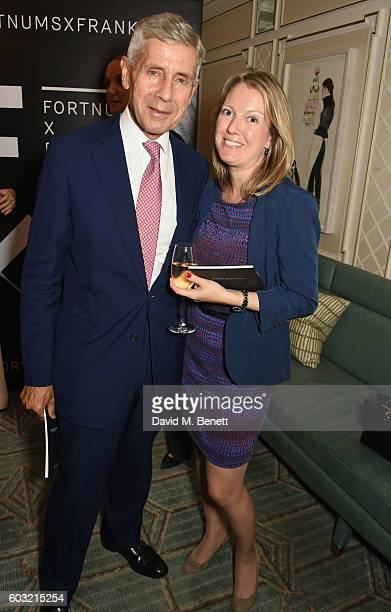 Lord Stuart Rose and Anna Hartropp attend the launch of Fortnum's X Frank at Fortnum Mason on September 12 2016 in London United Kingdom This free...