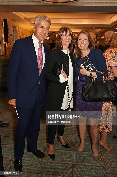 Lord Stuart Rose Cheryl Cohen and Anna Hartropp attend the launch of Fortnum's X Frank at Fortnum Mason on September 12 2016 in London United Kingdom...