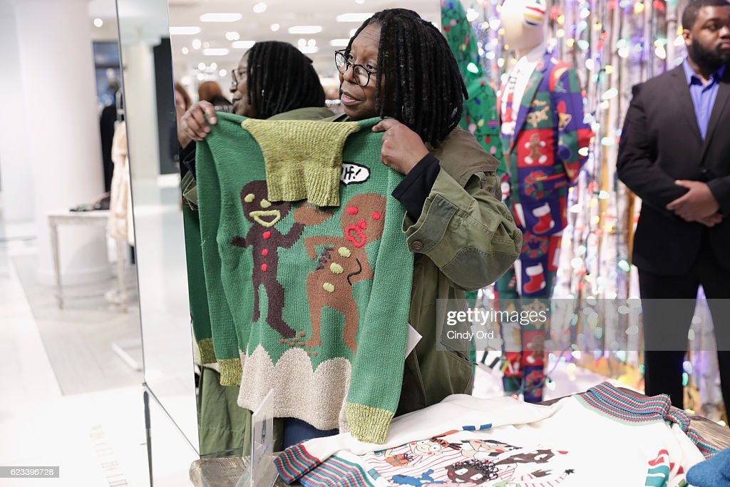 Lord Taylor And Whoopi Goldberg Celebrate Her Exclusive Photo D