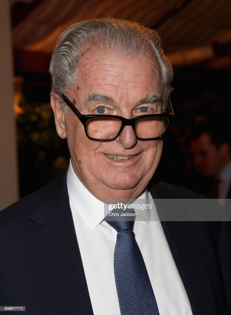 Lord Timothy Bell attends the Glass Half Full party at Mark's Club on March 23, 2017 in London, United Kingdom.