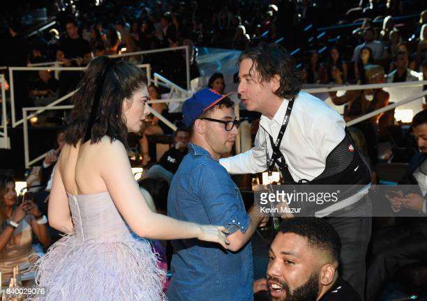 Lorde and Charlie Walk attend the 2017 MTV Video Music Awards at The Forum on August 27 2017 in Inglewood California