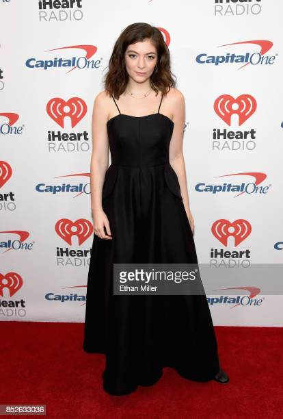 Lorde attends the 2017 iHeartRadio Music Festival at TMobile Arena on September 23 2017 in Las Vegas Nevada