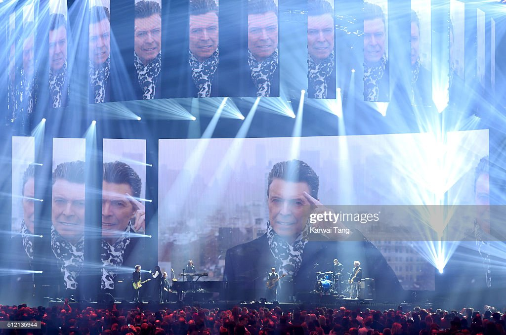 Brit Awards 2016 - Show : News Photo
