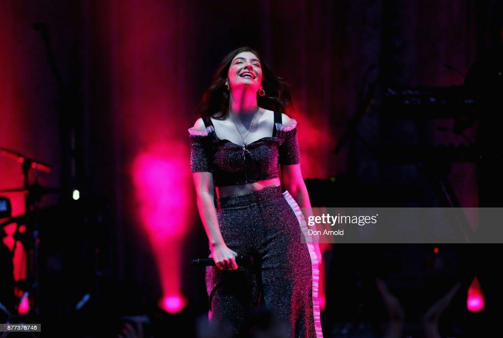 Lorde 'Melodrama' World Tour - Sydney : News Photo