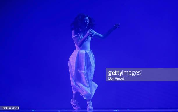 Lorde performs during the 31st Annual ARIA Awards 2017 at The Star on November 28 2017 in Sydney Australia
