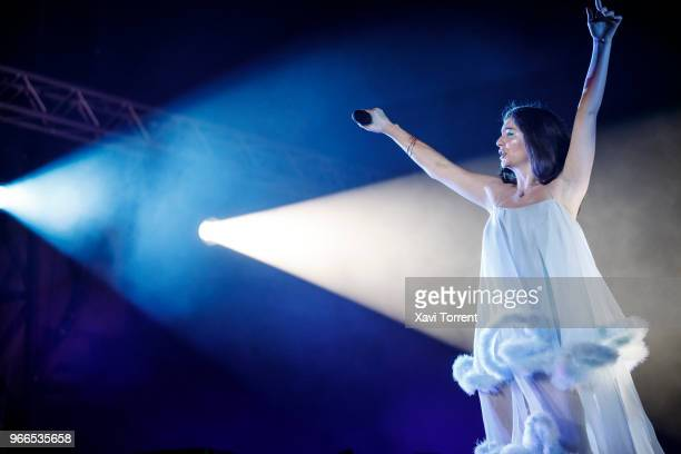 Lorde performs in concert during day 4 of the Primavera Sound Festival on June 2 2018 in Barcelona Spain