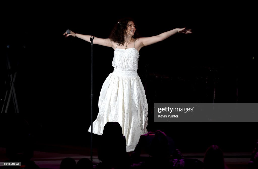 Lorde performs onstage at CBS RADIO's We Can Survive 2017 at The Hollywood Bowl on October 21, 2017 in Los Angeles, California.