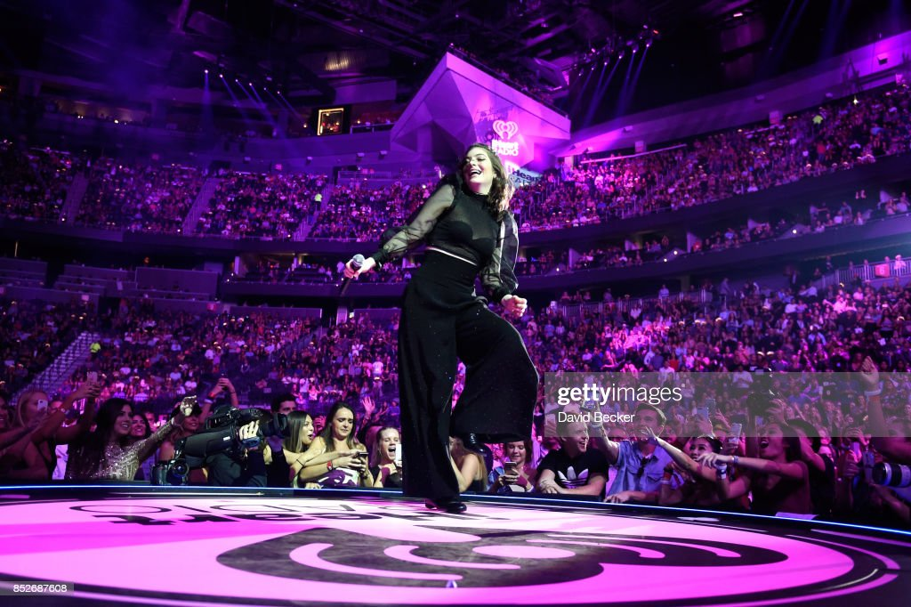 Lorde performs onstage during the 2017 iHeartRadio Music Festival at T-Mobile Arena on September 23, 2017 in Las Vegas, Nevada.