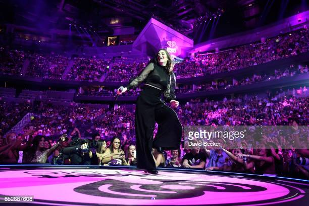 Lorde performs onstage during the 2017 iHeartRadio Music Festival at TMobile Arena on September 23 2017 in Las Vegas Nevada