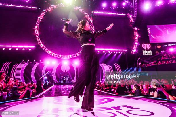 Lorde performs onstage during the iHeartRadio Music Festival at TMobile Arena on September 23 2017 in Las Vegas Nevada