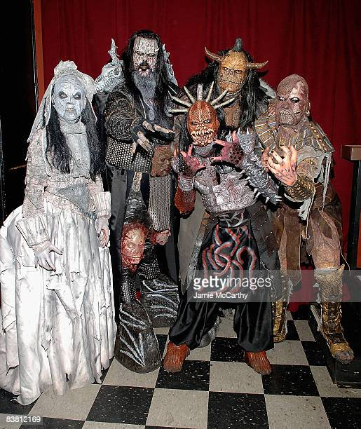 Lordi performs at The Fillmore at Irving Plaza on November 24 2008 in New York City