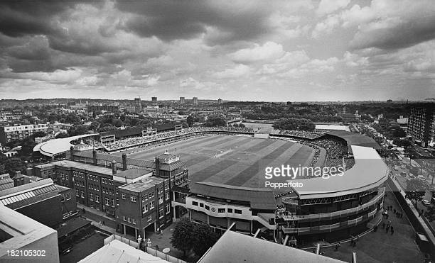 Lord's Cricket Ground in northwest London during the second test match between England and Australia 21st June 1968