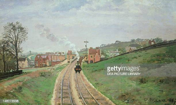 Lordship Lane Station Dulwich by Camille Pissarro London Courtauld Institute Of Art Gallery