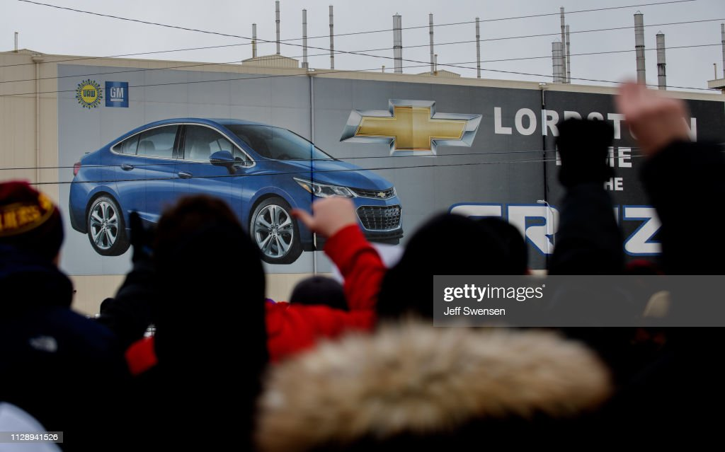 General Motors Ends Production At Lordstown Assembly Plant : News Photo
