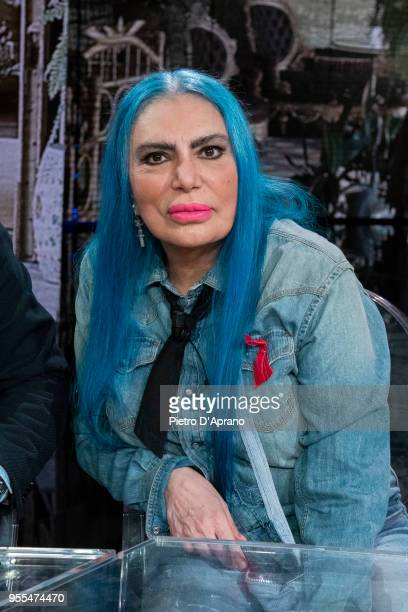 Loredana Berte' attends 'Che Tempo Che Fa' tv show on May 6 2018 in Milan Italy