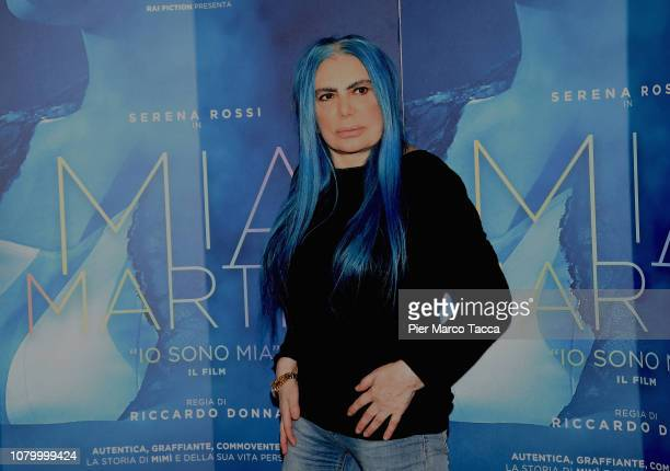 Loredana Berte attends the 'Io Sono Mia' photocall on January 10 2019 in Milan Italy