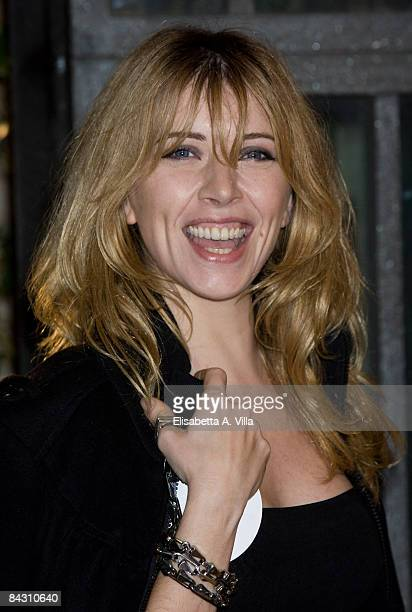 Loredana Cannata attends Australia Rome Screening at Auditorium Conciliazione on January 15 2009 in Rome Italy