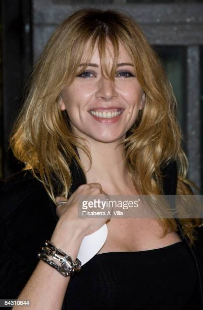 Loredana Cannata attends Australia Rome Screening at Auditorium Conciliazione on January 15 2009 in Rome Italy