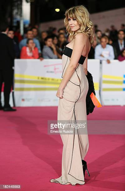 Loredana Cannata attends the Fiction Fest 2013 opening night at Auditorium Parco Della Mosica on September 29 2013 in Rome Italy