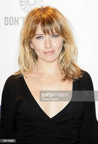 Loredana Cannata attends the Hugo Cabret premiere at Embassy Cinema on February 2 2012 in Rome Italy