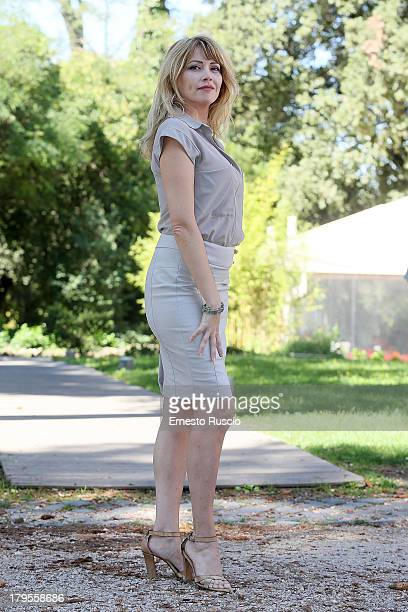 Loredana Cannata attends the Un Caso Di Coscienza 5 photocall at Casa del Cinema on September 5 2013 in Rome Italy