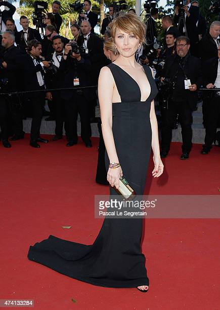 Loredana Cannata attends the Youth Premiere during the 68th annual Cannes Film Festival on May 20 2015 in Cannes France