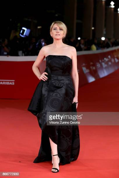 Loredana Cannata walks a red carpet for 'Hostiles' during the 12th Rome Film Fest at Auditorium Parco Della Musica on October 26 2017 in Rome Italy